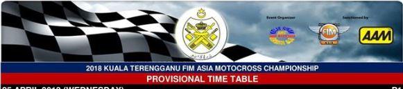 kuala terengganu provisional time table