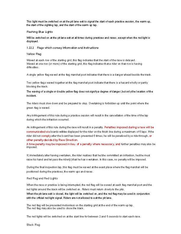 FIM Asia Asia Talent Cup Regulations – Edition 2019 – FIM