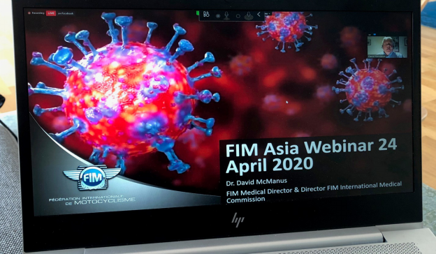 FIM Asia hosted the first Virus Crisis Webinar with almost 400 viewers87